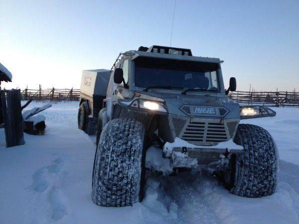 В России наладили серийный впуск уникальных вездеходов «Макар»