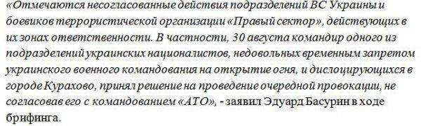 Миномётами по «Правому Сектору»: бойцы ВСУ по ошибке атаковали националистов в «серой зоне»