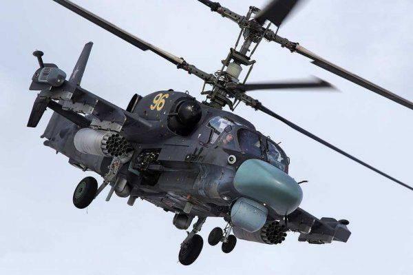 Российский «Аллигатор» Ка-52 ворвался на Украину, испугав херсонцев