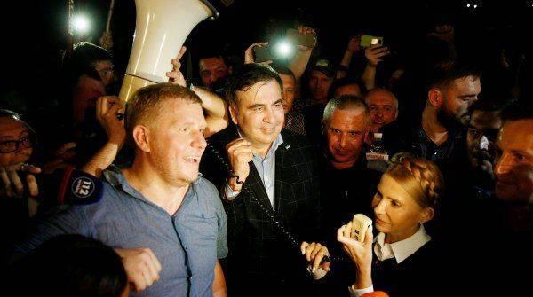 «Неотыгранная карта»: почему не спешат арестовывать Саакашвили за прорыв границы