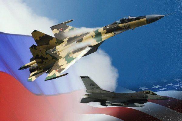 Западные СМИ: российский Су-35 превосходит американский F-16, у истребителя США нет шансов