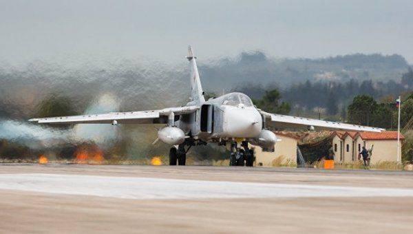 В Сирии разбился российский Су-24