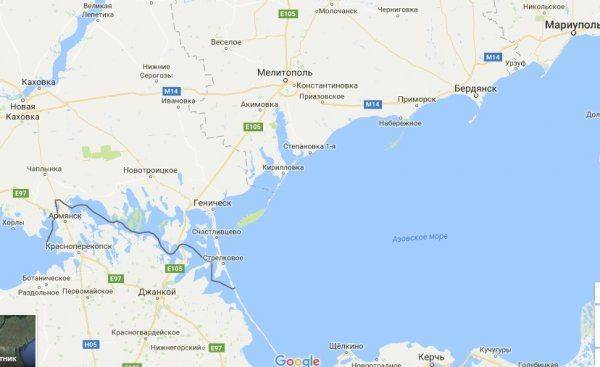 Расширяется трасса Ростов- Мариуполь?!
