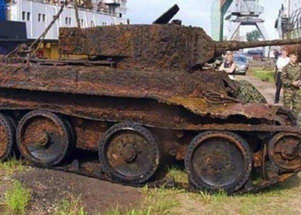 Письмо из танка