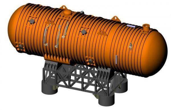 Проект российского атомного подводного бурового комплекса Айсберг