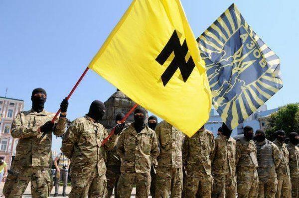 Бюргеры до смерти перепуганы украинскими нацистами, штурмующими ЕС