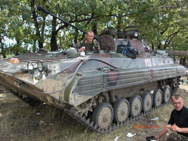 128-я горно-пехотная бригада ВСУ в ходе карательной операции на Донбассе