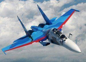 Су-30 нагнал ужас на пилотов самолёта ВВС США над Чёрным морем