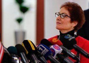 Посол США Мари Йванович потребовала от Киева вернуть пенсии жителям Донбасса