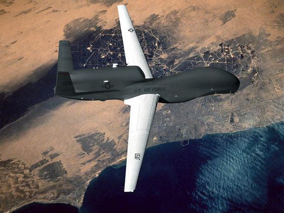 Боевой дрон США намечал цели на территории России