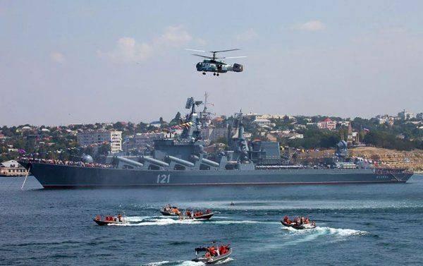 Роль Черноморского флота в жизни Крыма