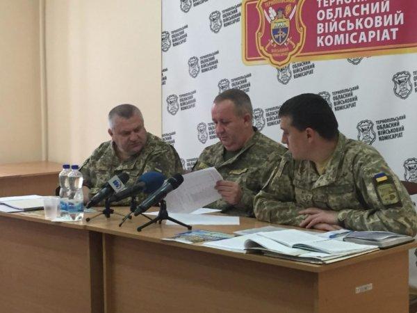 На Тернопольщине от военкомата скрылось больше 13 000 призывников