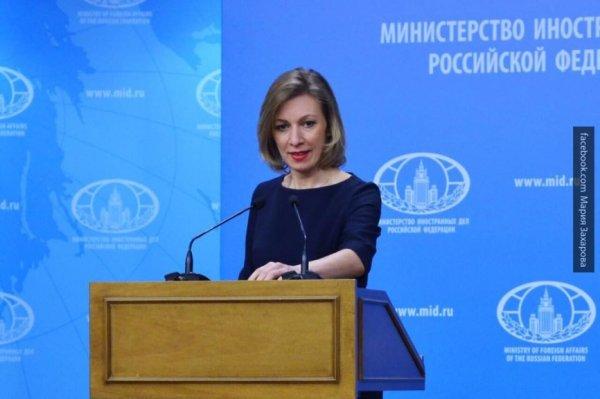 Мария Захарова сочинила сказку о Саакашвили, Малыше и Карлсоне