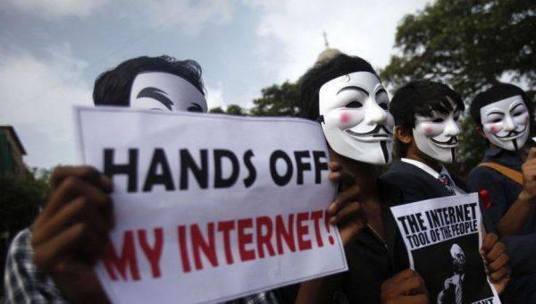 Как Израиль ограничивает палестинский интернет