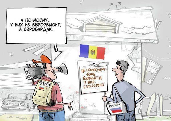Конец российского телерадиовещания в Молдове