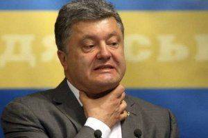 Политический суицид президента Украины