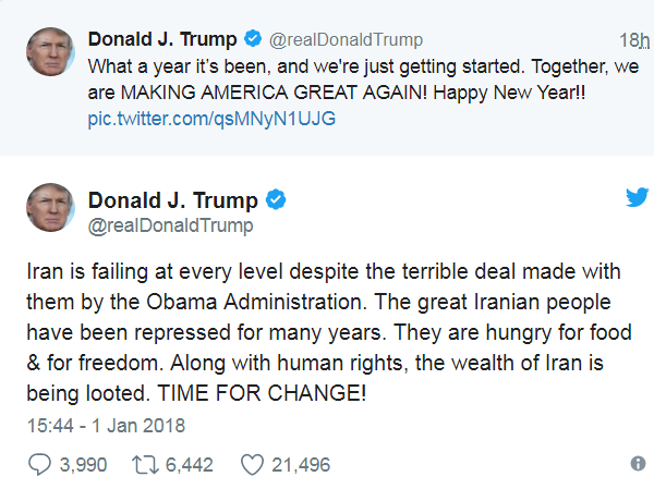 "Атака ""демократии"" на Иран: Трамп проговорился..."