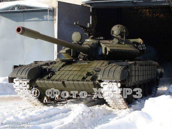 Новый танк Т55-64 - спаривание бронетехники в неволе