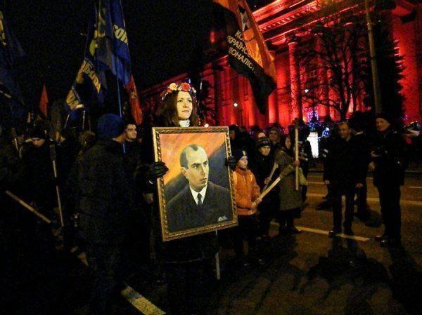 Бандеровский марш в Киеве: Кому принадлежит Кубань? Украине!