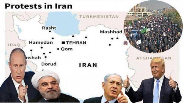"""Как """"умирал"""" иранский протест"""