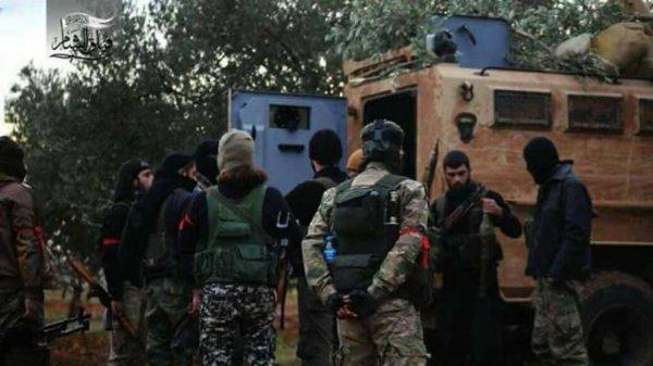 США попытались рассорить Турцию и Москву или как у протурецких боевиков появилось американское вооружение
