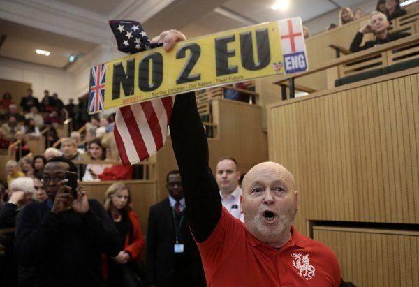 «Гражданский протест»: сторонники Трампа сорвали речь мэра Лондона