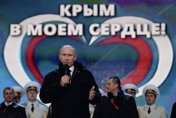 Глава совета крымско-татарского народа: «Крым за Путина!»