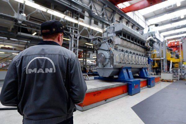 В Крым поставили генераторы немецкой МАN