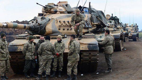 Бойцы курдского ополчения подбили пять турецких танков в Африне