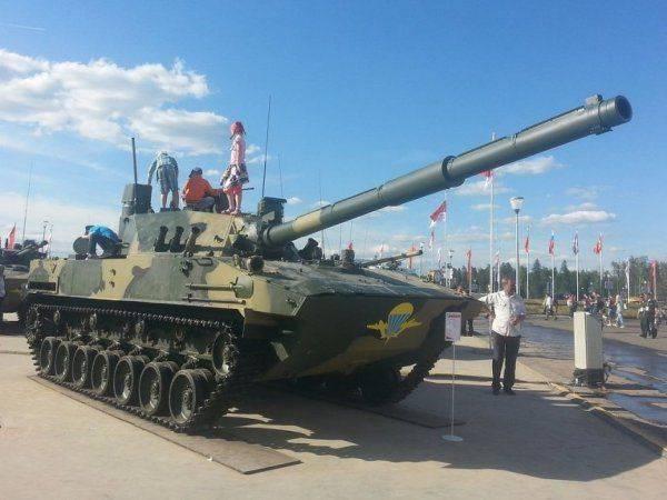 Модернизированный «истребитель танков» «Спрут» для ВДВ России: не имеющую зарубежных аналогов пушку готовят к испытаниям