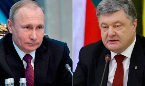 Песков рассказал о необходимости встречи Путина и Порошенко