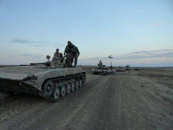 10-ая горно-штурмовая бригада ВСУ в ходе карательной операции на Донбассе
