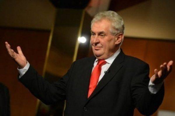 Вопреки опросам Земан вновь стал президентом Чехии