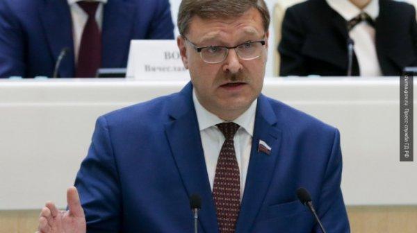 «США опасны для мира»: Косачев прокомментировал скандальную речь Трампа