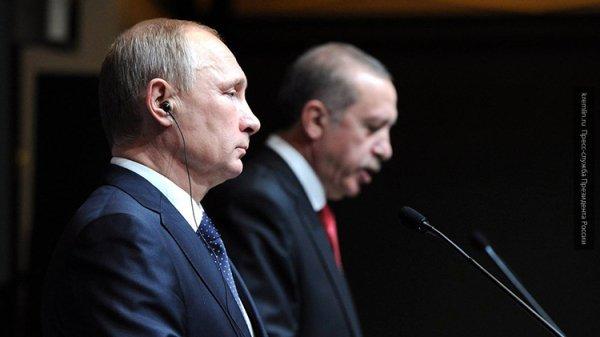 Владимир Путин обсудил с Эрдоганом проведение саммита Россия – Турция – Иран