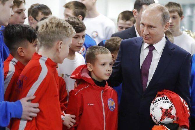 Все объекты, построенные к ЧМ, по распоряжению Путина передадут детскому спорту