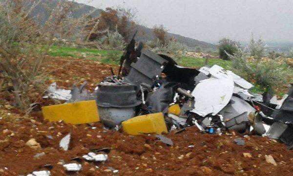Курды сбили боевой турецкий беспилотник, подписанный Эрдоганом