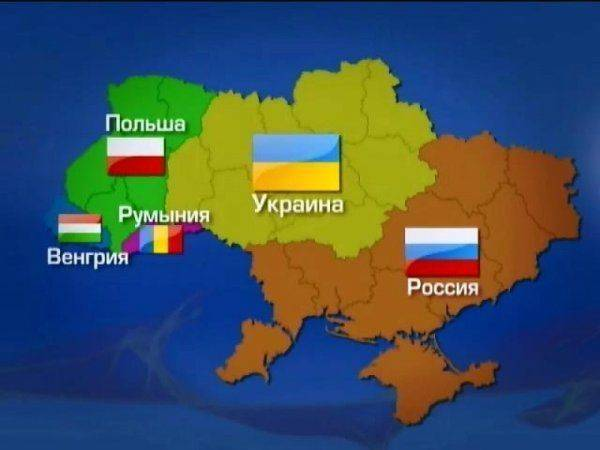 Польша готова оттяпать первые три области Украины