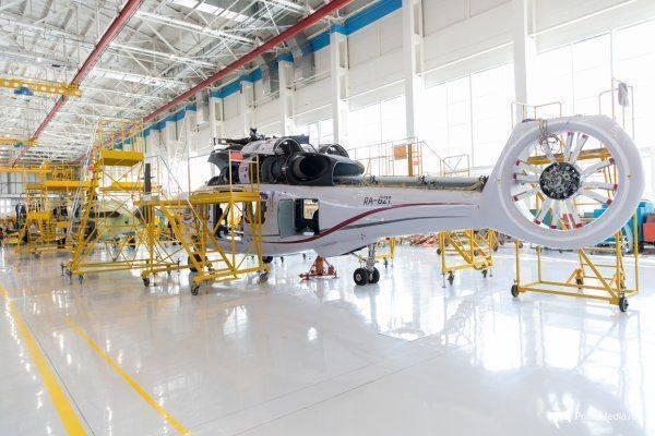 Второй полет первого прототипа вертолета Ка-62