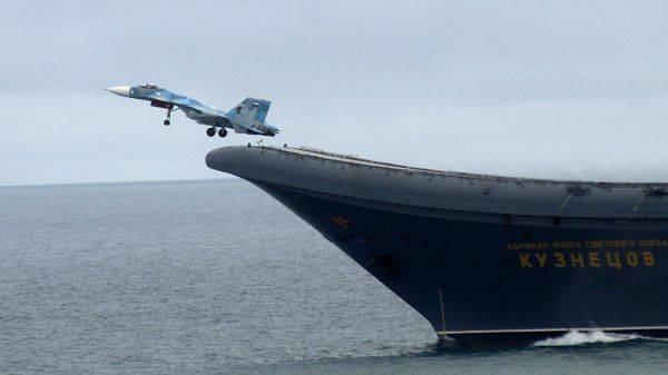 Новый русский авианосец - как сборная России по футболу: все надеются, но никто не верит