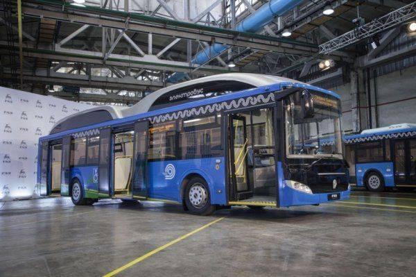 Автозавод «ГАЗ» провел презентацию нового электробуса со сверхбыстрой зарядкой