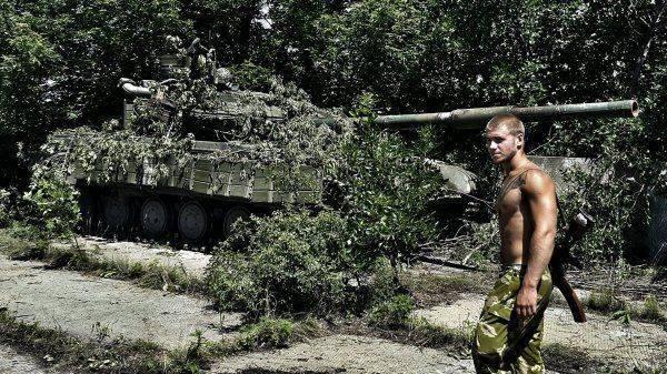 «Герой» АТО упал в обморок после перепалки с российским телеведущим в Италии