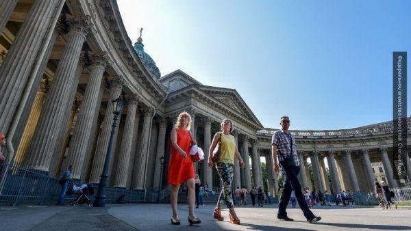 Ростуризм: число туристов из США в России в 2017 году выросло на 25%