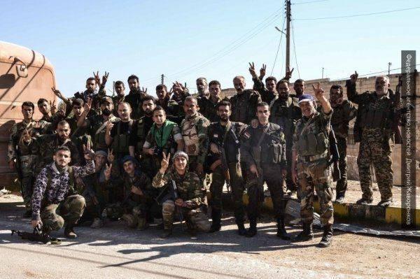 Бои на линии фронта: «Силы тигра» продавливают оборону боевиков в Дамаске