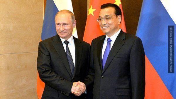 Ли Кэцян анонсировал рост товарооборота КНР и России до $100 млрд