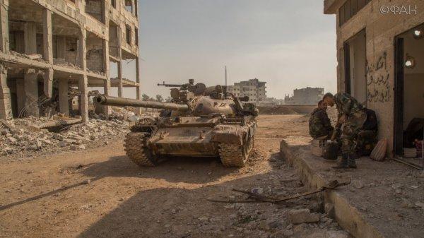 Ночная атака: ЧВК Вагнера разбили Джейш-аль-Ислам в Мисрабе
