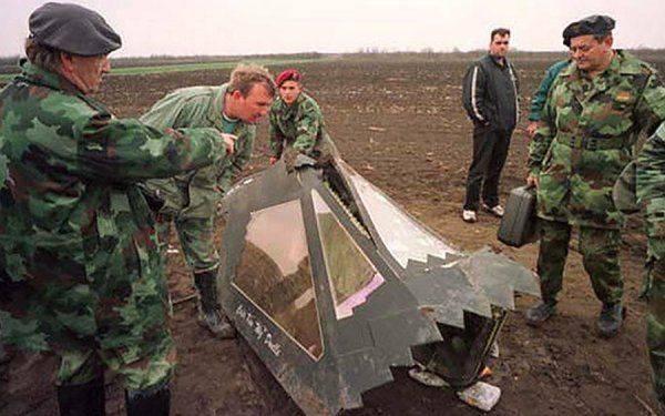 """Подбитый """"ястреб"""". Как югославам удалось уничтожить самолёт-невидимку"""