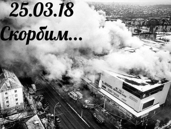Как украинские соцсети отреагировали на трагедию в Кемерово