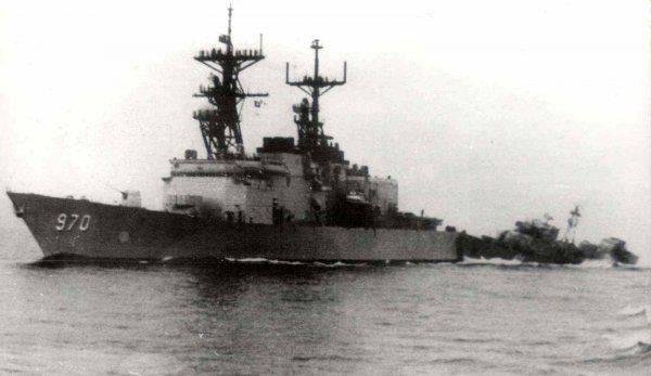 """Американцы показывали """"факи"""", а советские моряки протаранили их корабли"""