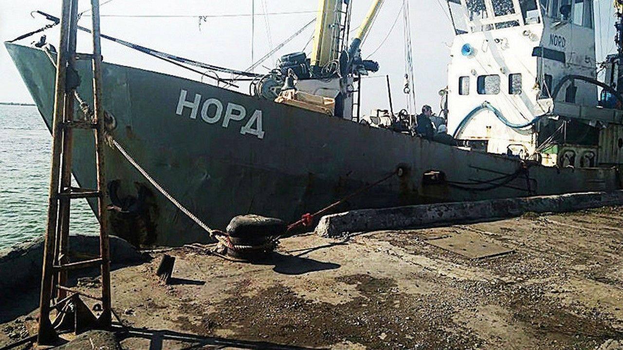 Сейнер «Норд» с мощью ракетного крейсера крушит рыбный промысел Украины
